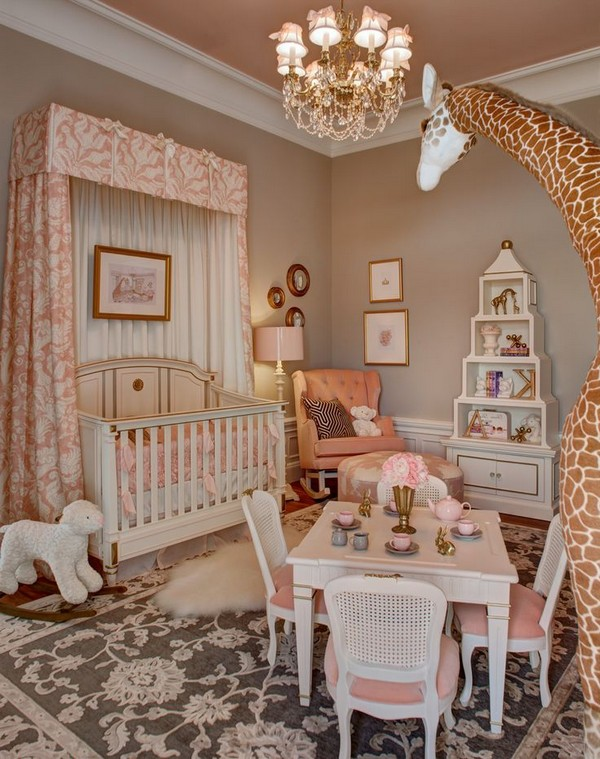 Toddler Girl Room Interior Design: Baby Girl Room Ideas: Cute And Adorable Nurseries