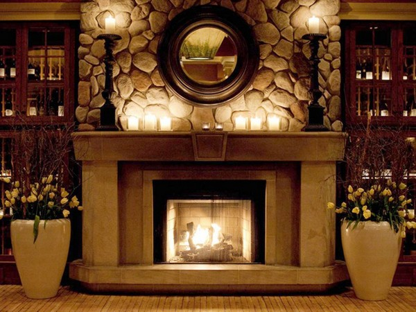 Fireplace mantel ideas how to cozy up your home decor around the world - How to decorate your house ...