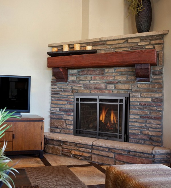 25 Cozy Ideas For Fireplace Mantels: Fireplace Mantel Ideas: How To Cozy Up Your Home
