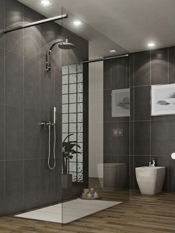 Glass closures also come in handy for those who love open shower designs  but still desire