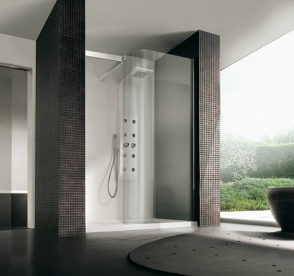 Open Shower Ideas: Awesome Doorless Shower Creativity