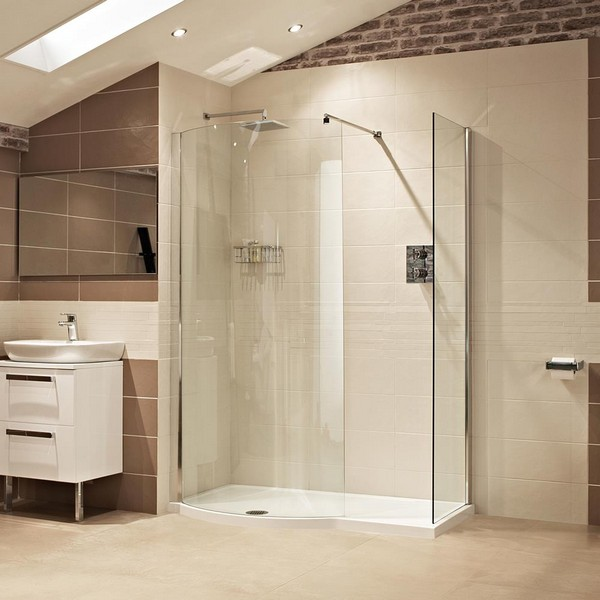 Open showers best 25 open showers ideas on pinterest open for Bathroom designs open showers