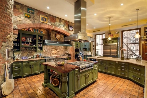 Large, spacious luxury kitchen