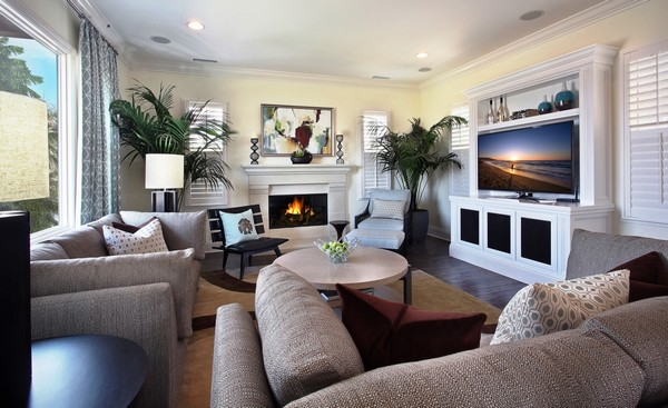family room design and décor: traditional and contemporary ideas