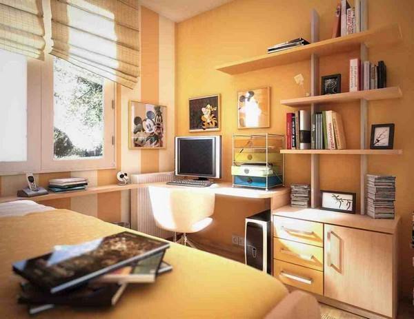 Study rooms design and d cor tips for small and large study rooms decor around the world - Small spaces big design decoration ...
