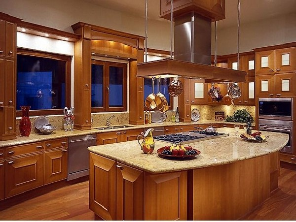Shiny stainless steel appliances and utensils