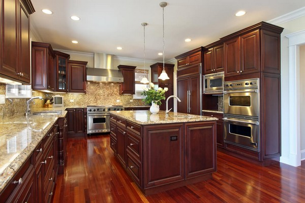 Luxury kitchens how to refine your cooking and dining Luxury kitchen flooring