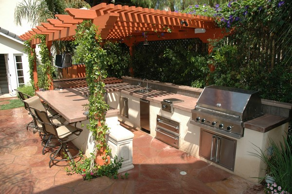 Outdoor Kitchen Creativity What To Do With That Extra Outdoor Space
