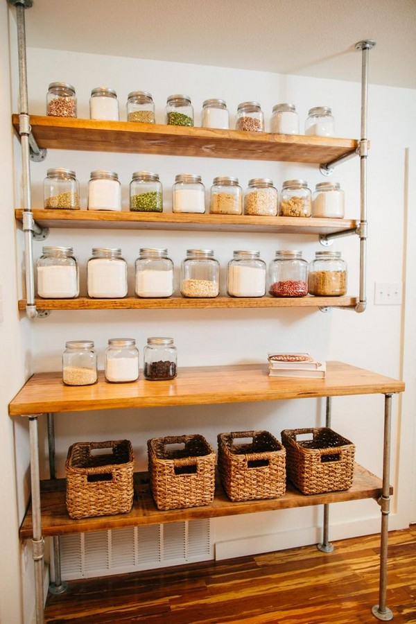 Kitchen Shelving In A Small Space