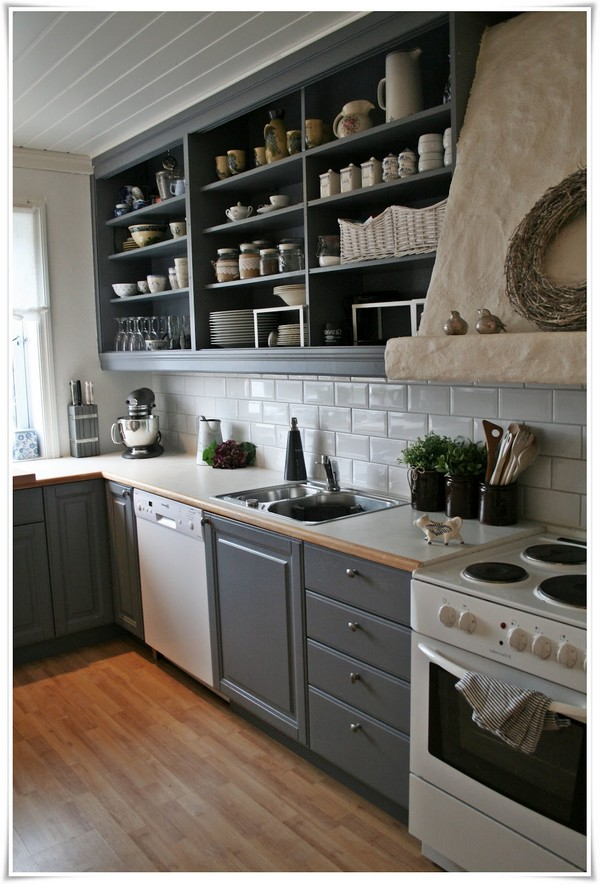 open-shelving-kitchen-ideas-10 Rustic Open Kitchen Shelving Ideas on rustic open shelving kitchen design, rustic open kitchen cabinets, rustic kitchen cabinet ideas,
