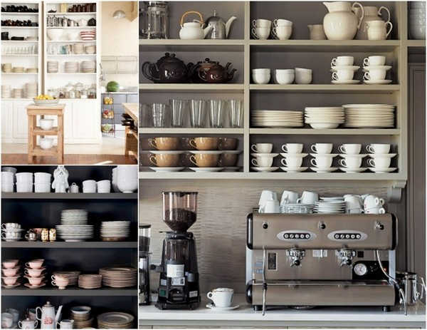 If You Want To Lean Towards A Certain Design Style With Your Open Shelving  Design, Then You Have The Freedom To Do That. Open Shelving Designs Are All  About ... Part 97