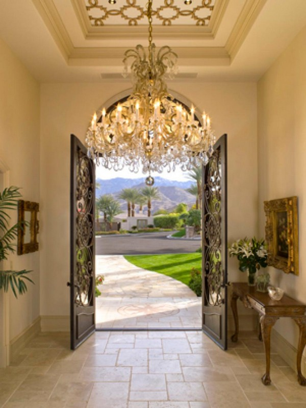 Interior front door décor
