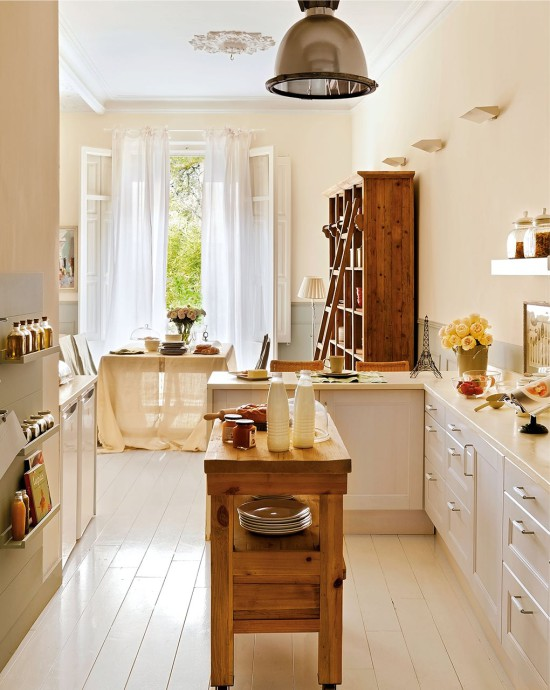 Design Of Kitchen Area Of 25-30 Square Meters