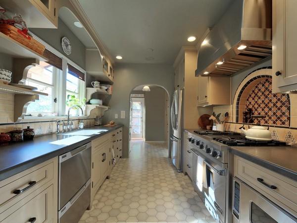 Galley kitchen decor around the world Ship galley kitchen design