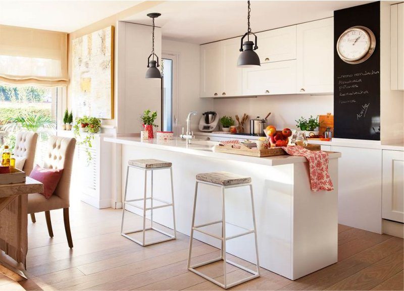 If Your Kitchen Has An Area Of More Than 18 Square Meters, Install The  Island Desktop