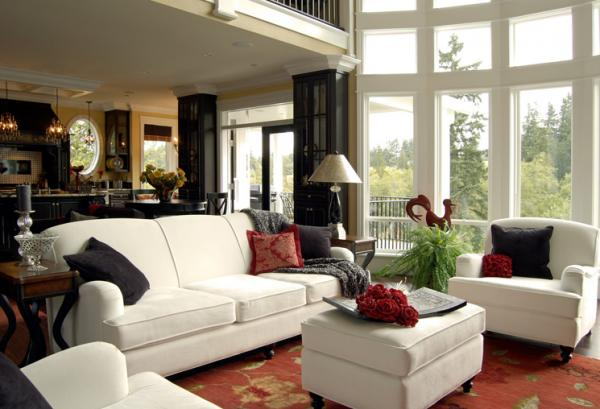Different Style Choices For The Living Room Interior - Decor Around ...