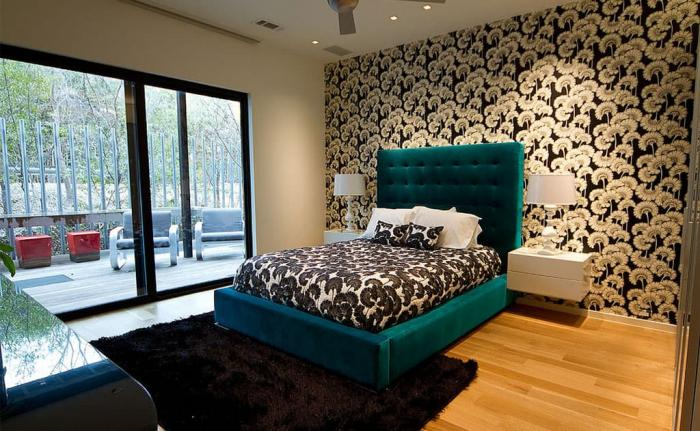 Incorporating A Bright Headboard Into The Design Of Your Bed Is A Great Way  To Add Fresh Colors And Rich Hues To Your Bedroom Without Having To Do Much.