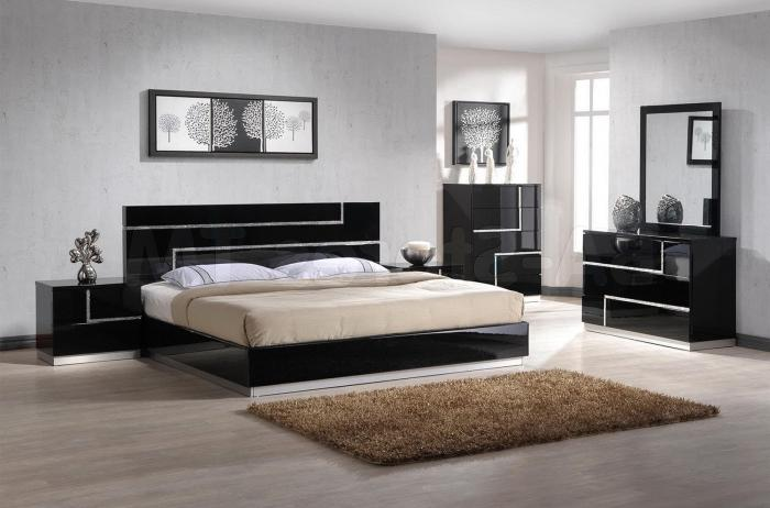 If You Have No Idea On Decorating A Room With Dark Furniture Go The Simple Concept Of Black And White Monochrome Interiors Which Will Always Be