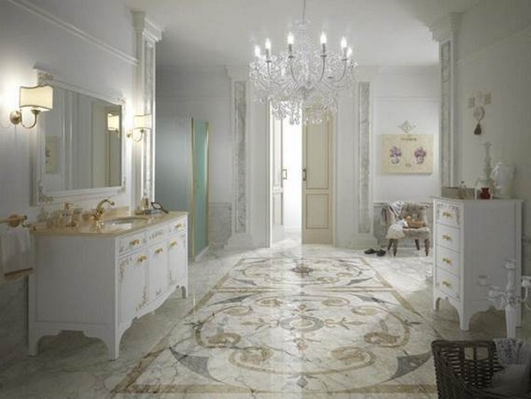 Baroque Bathroom - Decor Around The World