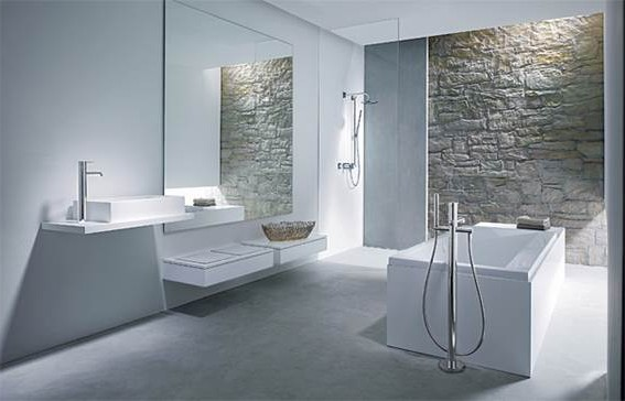 Minimalism Achieving A Blend Of Simplicity And Beauty In Your Bathroom Decor Around The World