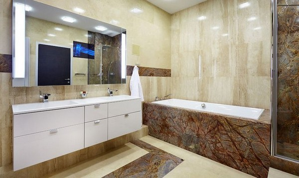 Tips On Choosing The Best Materials For Decorating Bathroom Walls Decor Around The World